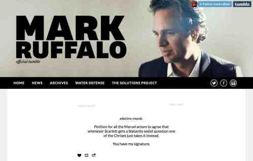 mark ruffalo tumblr petition 98kb