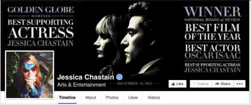 jessica chastain facebook