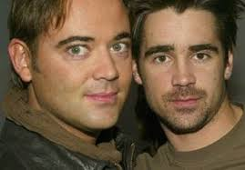 Colin Farrell and his brother Eamon
