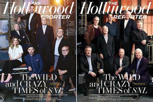 SNL hollywood reporter cover