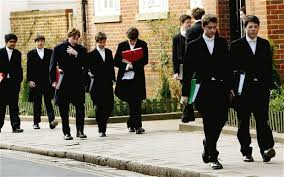 students at eton